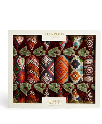Harrods Country Pile Christmas Crackers (Set of 6)