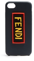 Fendi Logo-patch leather iPhone® 7 case