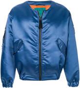Paura oversized bomber jacket