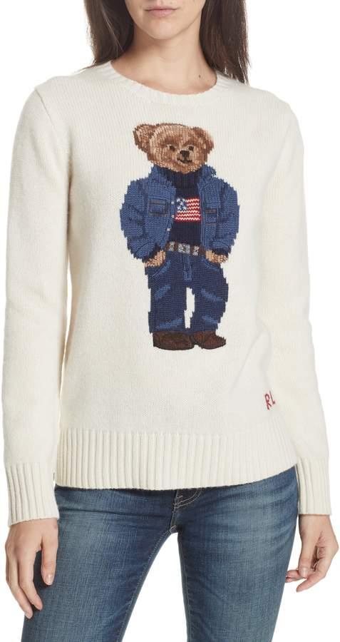 Polo Ralph Lauren Bear Wool Sweater