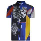 Versace Mosaic Polo Shirt
