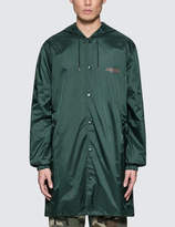 10.Deep Grmnt Supply Hooded Coach's Trench