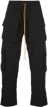 Rhude tie waist cargo pants