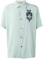 Nuur embroidered figure shirt - men - Viscose - 48