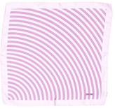 Tom Ford Striped Silk Pocket Square