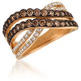 LeVian 0.94TCW Diamonds and 14K Rose Gold Chocolatier Ring