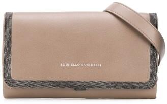 Brunello Cucinelli Stud-Embellished Belt Bag