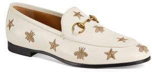 594215dc12012 Jordaan Embroidered Bee Loafer