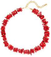 Kenneth Jay Lane Resin Disc Station Necklace