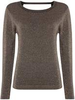 Suncoo Paciane Sparkly Sweater With V-Back