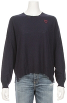 Sundry Heart Embroider Crew Sweater