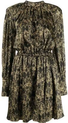FEDERICA TOSI abstract print mini dress
