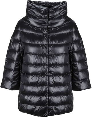 Herno Cropped Sleeves Down Jacket