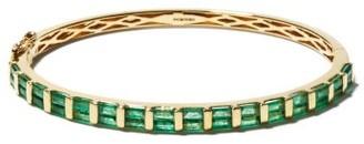 Shay Emerald & 18kt Gold Bracelet - Green Gold