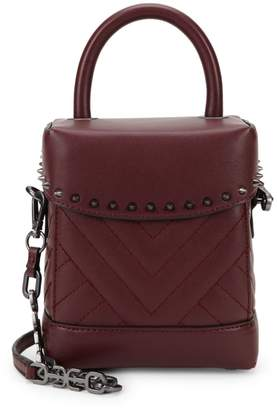 Sam Edelman Charlie Quilted Box Crossbody Bag