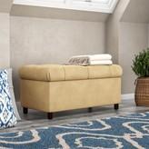 Laurèl Scanlon Upholstered Storage Bench Foundry Modern Farmhouse Color: Buckwheat