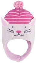 Jo-Jo JoJo Maman Bebe Cat Hat (Baby) - Cream-6-12 Months