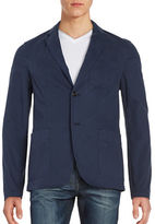 Michael Kors Slim-Fit Cotton-Blend Blazer
