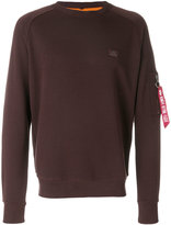 Alpha Industries pocket detail sweatshirt