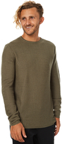 Swell Supply Mens Crew Knit Green