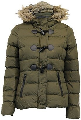Brave Soul Ladies Jacket WIZARDPKA Khaki UK 8