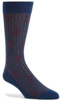 Pantherella Men's Houndstooth Socks