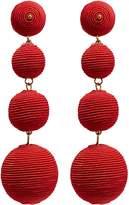 Kenneth Jay Lane 'Carnival' threaded sphere drop earrings