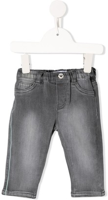 Emporio Armani Kids Straight-Fit Jeans