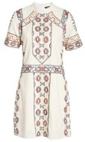 Kas Women's Ginger Embroidered Shift Dress