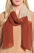 Eileen Fisher Women's Colorblock Silk Scarf