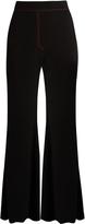 Ellery Rafael wide-leg flared trousers