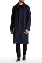 Billy Reid Rowan Wool Trench Coat