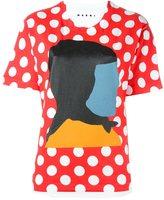 Marni Ekta print T-shirt - women - Cotton - 38
