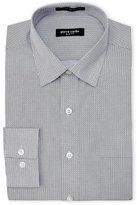 Pierre Cardin Slim Fit Square Pattern Dress Shirt
