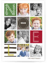 Minted Quilted Holiday Postcards