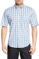 Tailorbyrd Men's Big & Tall Pinyon Plaid Sport Shirt