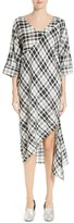 Rachel Comey Grateful Plaid Cotton Shift Dress
