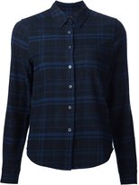 Equipment Kate Moss for plaid shirt - women - Cotton - M