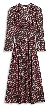 Sandro Billie Printed Dress