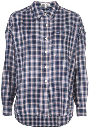 Alex Mill checked loose-fit shirt