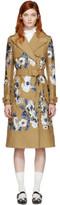 Erdem Tan Susan Trench Coat