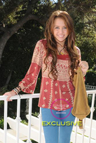 Bali Top in Red as seen on Miley Cyrus