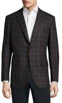 Brioni Printed Textured Wool Sportcoat