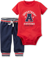 Carter's 2-Pc. Cotton Department of Awesome Bodysuit & Pants Set, Baby Boys (0-24 months)
