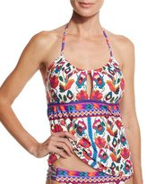 Nanette Lepore Antigua Honey Tankini Swim Top, Multi