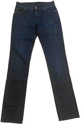 Gucci Navy Cotton Jeans