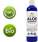 Honeydew Aloe Vera Shampoo with Sunflower & Keratin - Natural Hydrating Shampoo for Soft & Shiny Hair - Sulfate Free for Color Treated Hair - Men & Women (8oz)