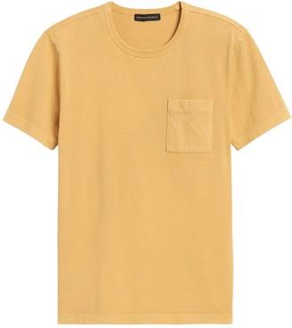 Banana Republic Authentic SUPIMA Crew-Neck T-Shirt