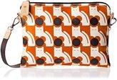 Orla Kiely Poppy Cat Print Travel Pouch Shoulder Bag