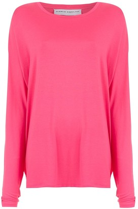 Gloria Coelho loose fit blouse